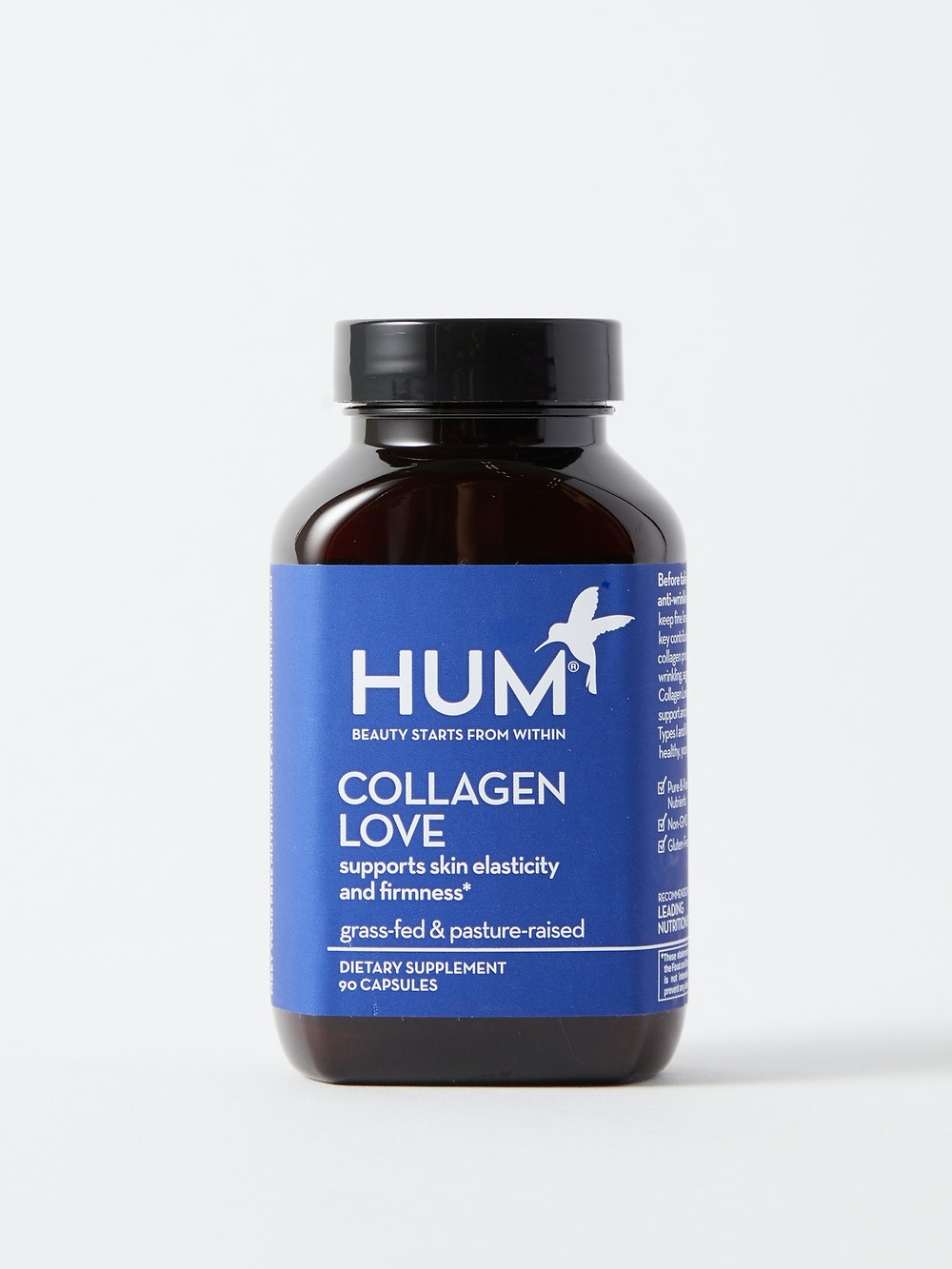 HUM Collagen Love supplement capsules