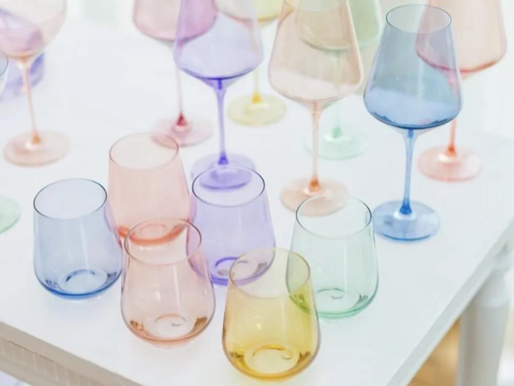 Estelle Colored Glassware