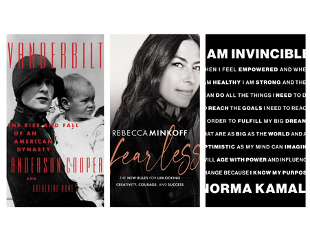New Books We are Reading, or Listening to, This Month