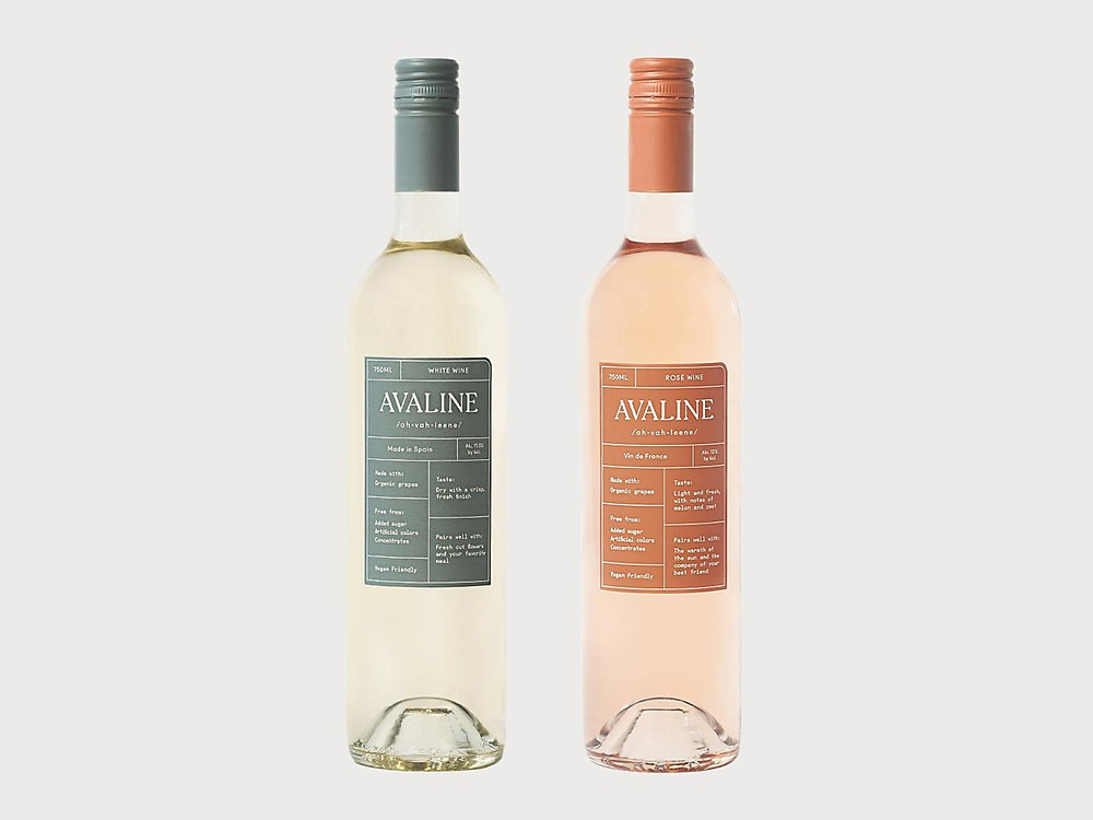 Avaline- Natural Wines by Cameron Diaz and Katherine Powers