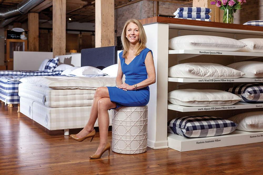 Mary Pat Wallace, Founder of The Luxury Bed Collection and Chicago Luxury Beds