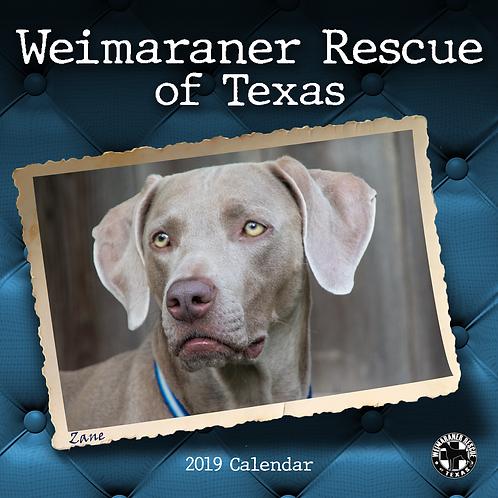 2019 WRT Calendar