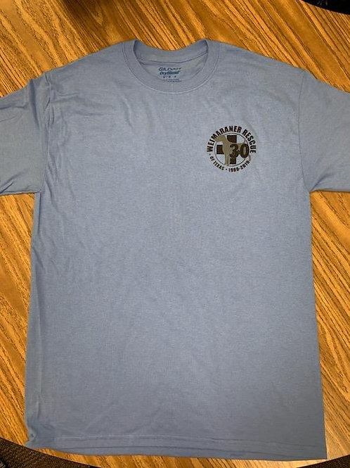 30th Anniversary Blue Unisex Shirt