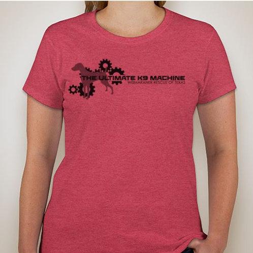 Ladies - Ultimate K9 Machine T-Shirt