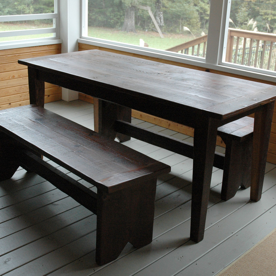 reclaimed-heart-pine-table-and-benches.j
