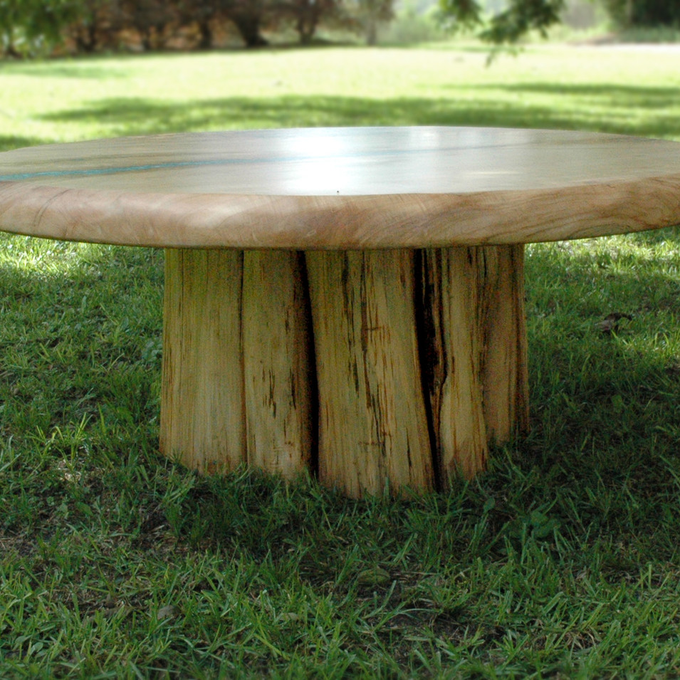 """48"""" Round Maple River Coffee Table"""