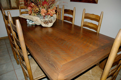 Reclaimed Heartpine Table