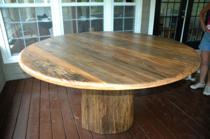Cypress Round Dining Table