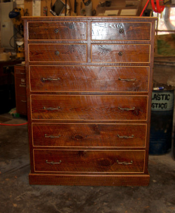 Heart Pine Chest of Drawers