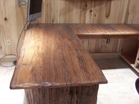 Reclaimed Cypress Desk