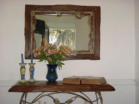 Sinker Cypress Mirror