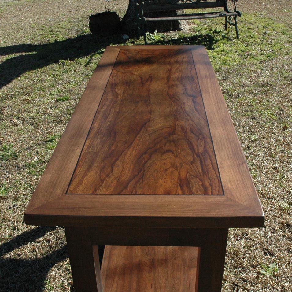 Walnut Sofa Table Top