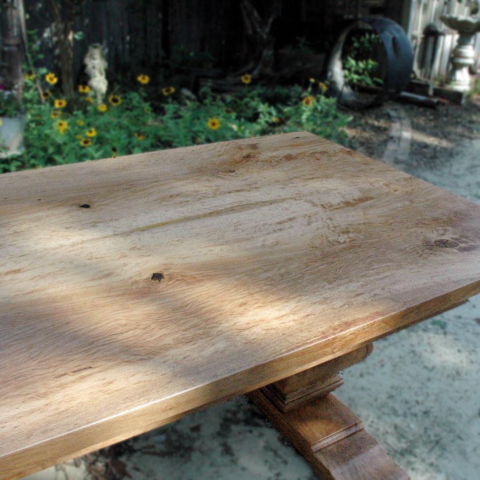 Live Oak Table Base