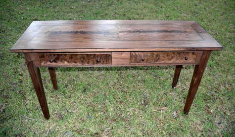 Walnut Figured Table