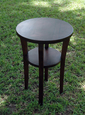 Small Walnut End Table