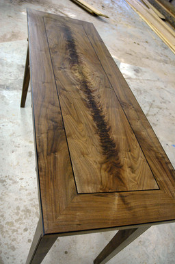 Walnut Figured Table Top