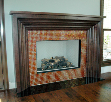 Black Walnut Mantle