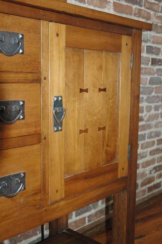 Mission Style Oak Sideboard
