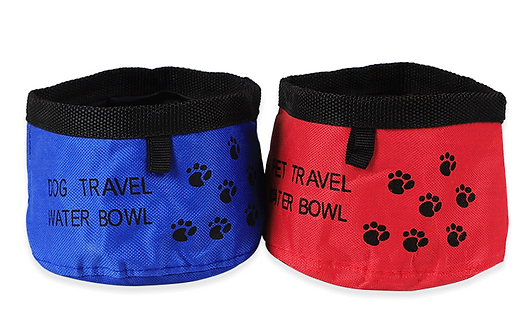 FOLDABLE TRAVEL WATER BOWL