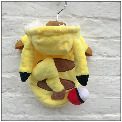 Pokemon Pichachu Dog / Cat Custome Halloween Outfit Assorted Size fit rabbit