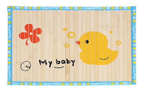 GGFLY BAMBOO NATRUAL COOLING MAT WITH CUTE DUCK