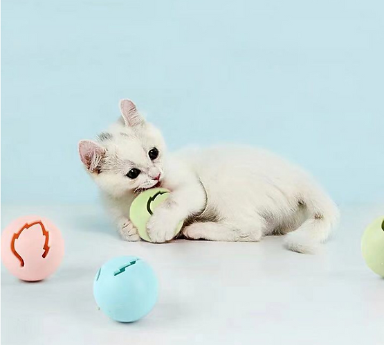 CARNO CAT SHINNING BELL BALL SET