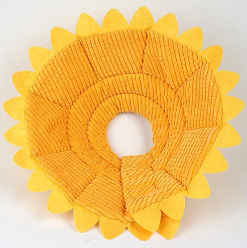 PROTECTIVE ELIZABATH CONE SUNFLOWER Pet recovery collar