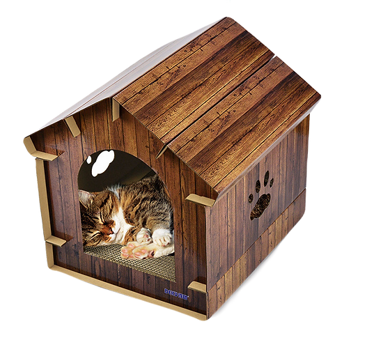 DEKU LUXERY CAT BOARD HOUSE
