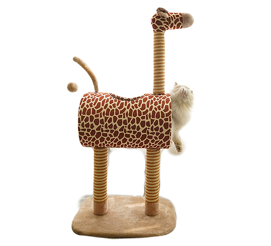 ZEZE SIGNITURE GIRAFFE CAT TREE