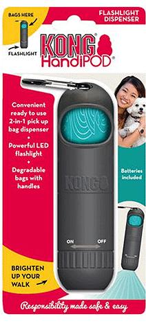 KONG HandiPOD Flashlight Sanitizer Dispenser