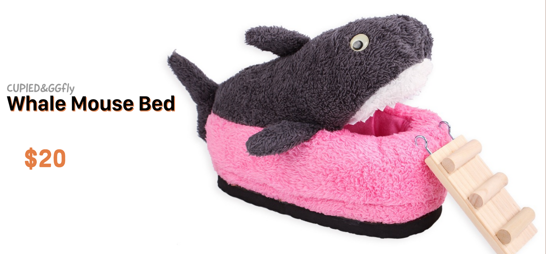 whale small paw bed