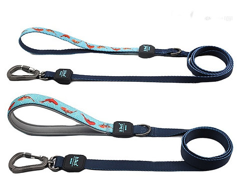 ISPET PolyesteFiber Leash - Lucky Fish