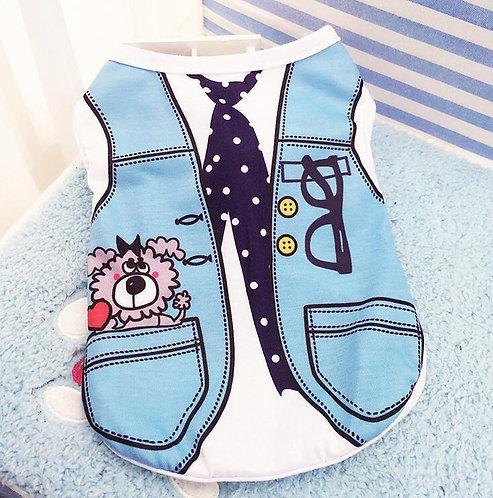 COOL BOY CLOTH SET PET CUSTOM dog summer cloth
