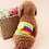 Thumbnail: RONGER MALE DOG WRAPPER / DIAPERS RAINBOW