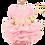 Thumbnail: MKO Dog and Cat Babydoll Princess Dress Pink