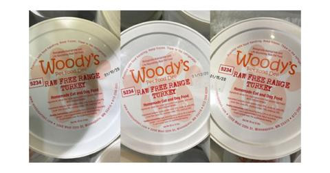 Salmonella Bacteria Found in Woody's Pet Food Deli Raw