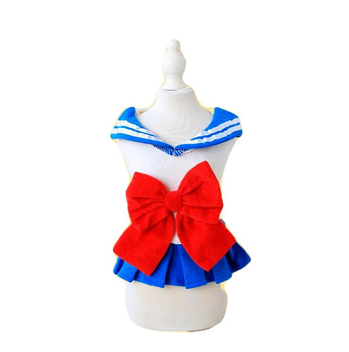 Petstyle Japanese school girl JK dress for dog and cat
