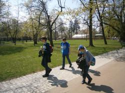 Wilanów - spacer po parku