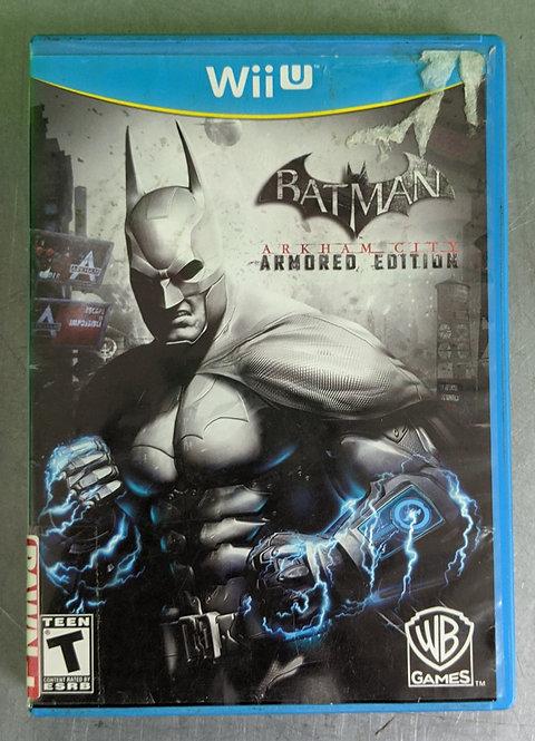 Batman Arkham City Armoured Ed Game - WiiU - Washington
