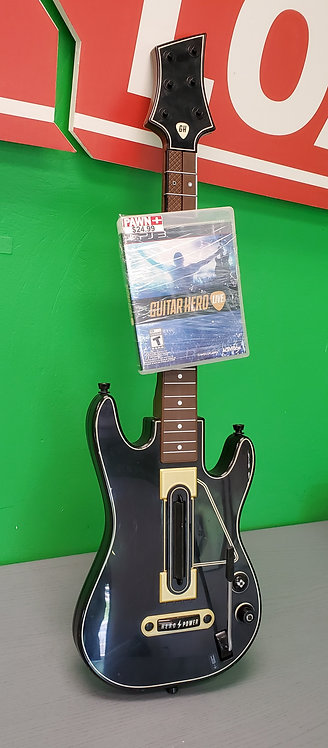 PS3 Guitar Hero Libe Game and Guitar Controller - St George