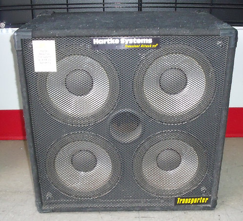 "Hartke Transporter Bass Cab w/ 4 EA 10"" Speakers - St. George Boulevard"