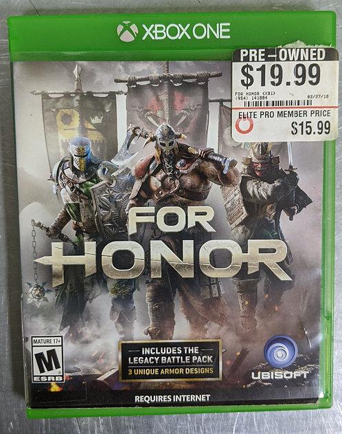 For Honor Game - Xbox One - Washington