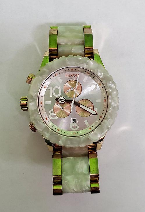 Nixon 42-20 Minimize Rose Gold/Quartz Watch- Washington