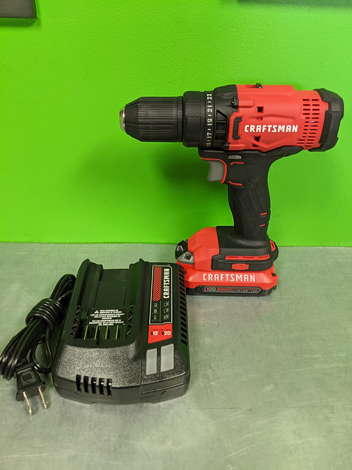 Craftsman Cmcd700 Drill With Battery And Charger