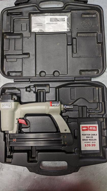Porter Cable BN125 Brad Nailer in case