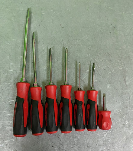 SnapOn 7 Piece Screwdriver Set - SGD8B - Washington
