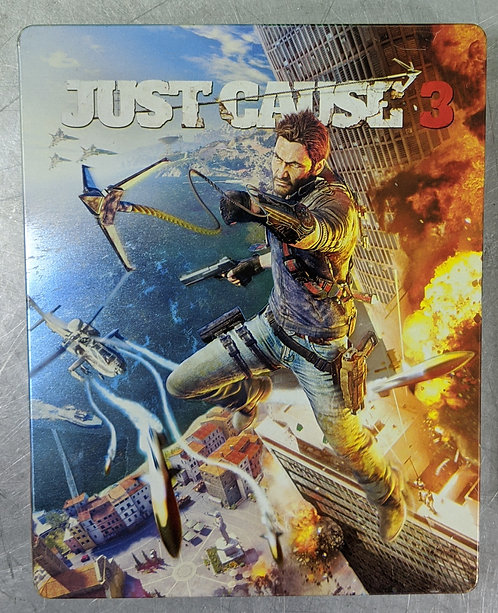 Just Cause SteelBook Edition Game - PS4 - Washington
