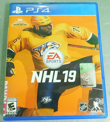 PS4 Game - NHL 19 - Washington