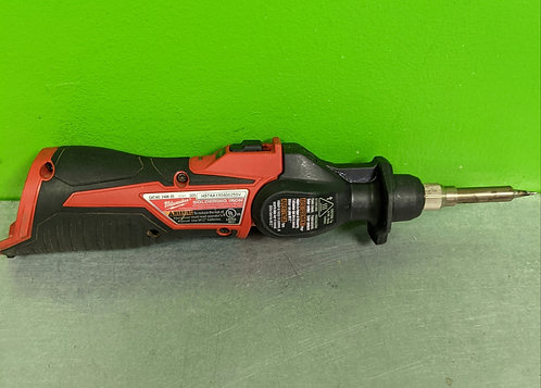 Milwaukee 2407-20 12v Cordless Soldering Iron TOOL ONLY