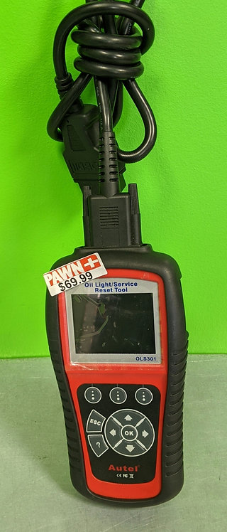 Autel Oil Light Service Rest Tool